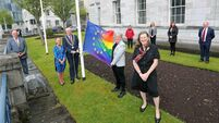 Rainbow flags mark start of LGBTI+ awareness week across Cork City