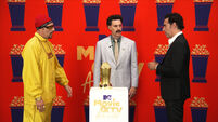Sacha Baron Cohen brings back Ali G, Borat and Bruno at awards show