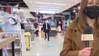 TV reporter 'caught rapid' shopping in Penneys during live broadcast