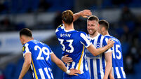 Brighton and Hove Albion v Manchester City - Premier League - AMEX Stadium