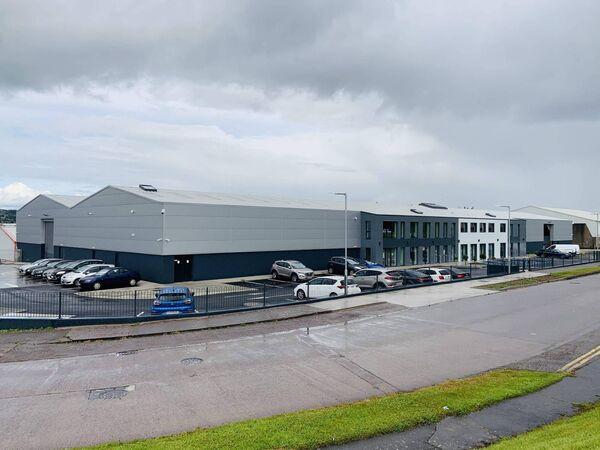 South Coast Sales' new 40,000 sq ft premises at Doughcloyne Industrial Estate, Wilton, Cork