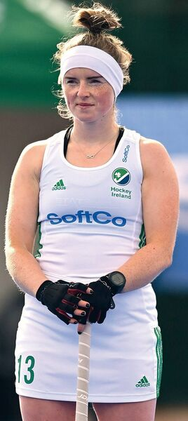 Naomi Carroll: Having overcome her cruciate injury, she has been named in the Irish women's hockey squad for the European Championship in Amsterdam.