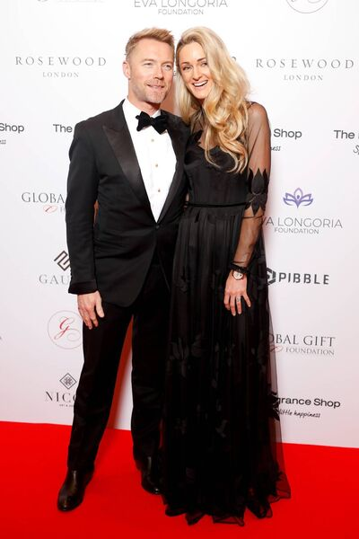 Ronan Keating and Storm Keating attending the 9th Annual Global Gift Gala held at the Rosewood Hotel, London in 2018. Picture: David Parry/PA.