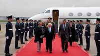 President Higgins welcomed to Windsor