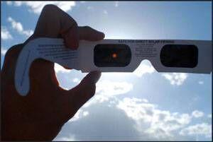 Astronomy Ireland eclipse glasses