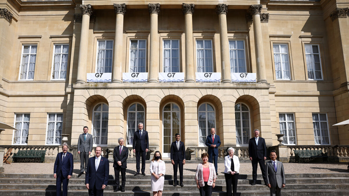 Big tech stocks shrug off G7 tax plan for now