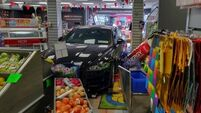 'Miraculous' that no one was injured after car smashes through Dublin shopfront