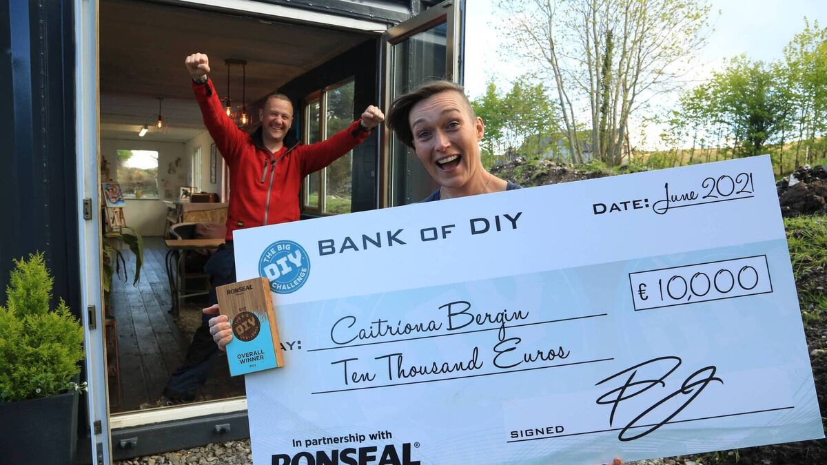 €10k windfall for artist who converted shipping container