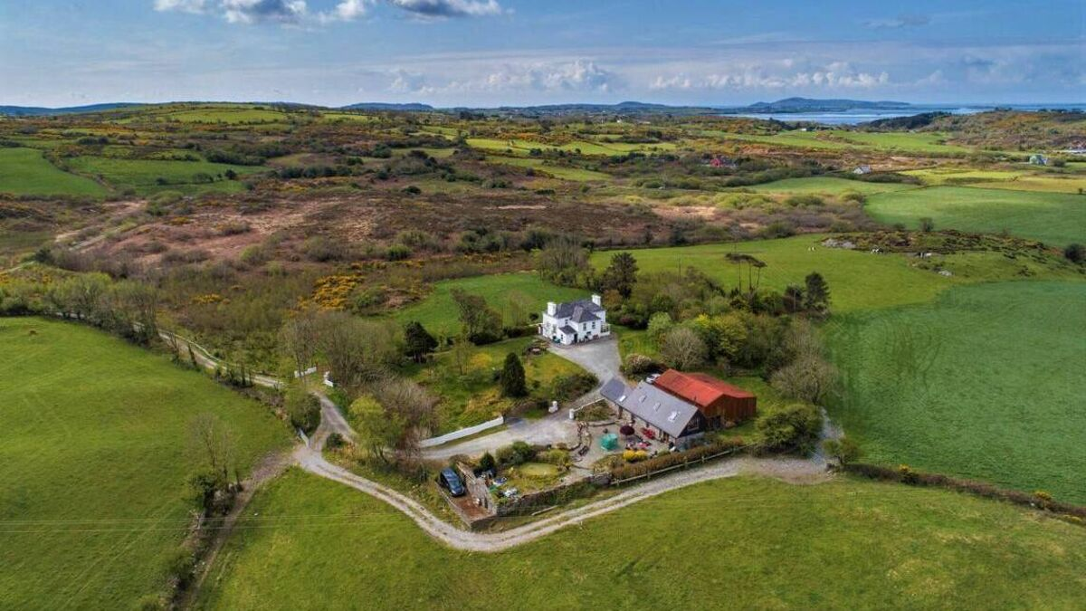 Two sensitively restored beauties on 7 acres in West Cork