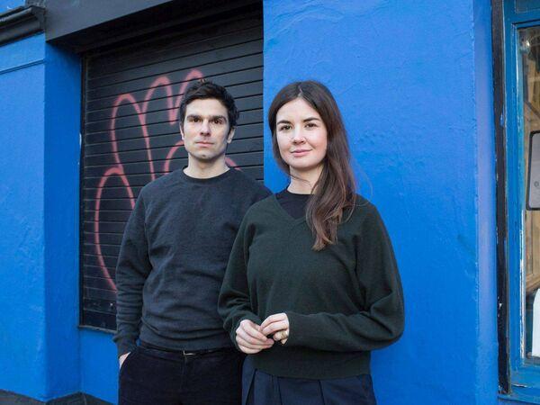 Les architectes Lucy Jones et Christophe Antipas d'Antipas Jones.  Photo : Shane Lynam.