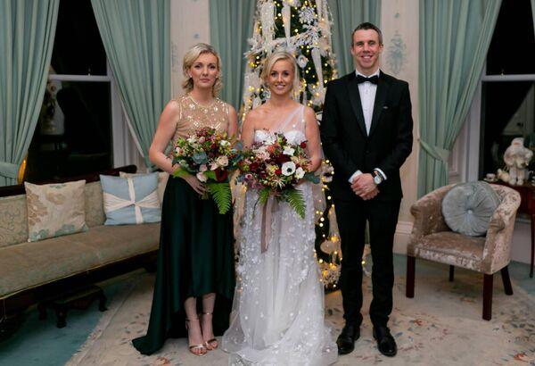 Críona Morrin with Shóna Murphy and Daniel Bloom