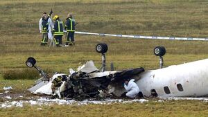 Cork Airport crash survivors recall final moments, including mud coming into plane
