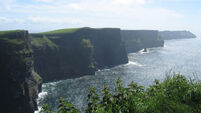 Cliffs of Moher voted Ireland's top heritage site