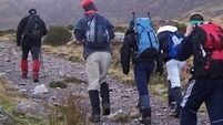 Hill walkers rescued from Tipperary mountains