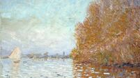 Vandalised Monet work back on show at National Gallery