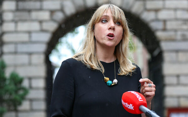 Green Party candidate Claire Byrne said no more than 50       people were in attendance at any one time. File picture: Damien       Storan