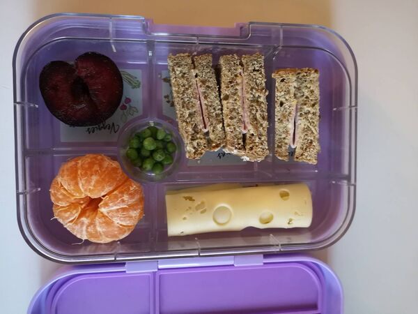 """""""A 'boring' school lunch is okay, too."""" Picture: Caroline O'Connor"""