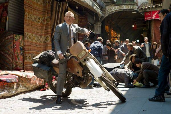 James Bond visits Istanbul at Skyfall.  Image: Sony Images
