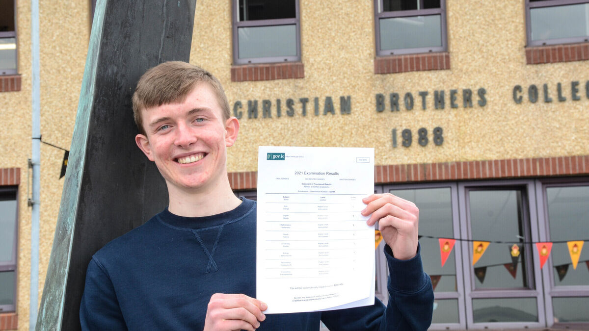 Cork student 'over the moon' with eight H1s
