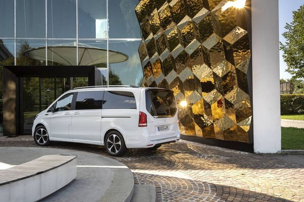 The Mercedes-Benz EQV will find little demand outside of the tourism and hospitality sector yet its range is only a claimed 342 kilometres