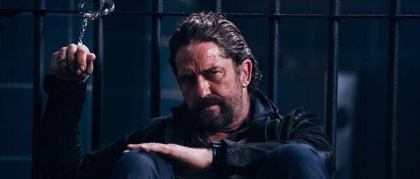 Gerard Butler plays in Copshop.