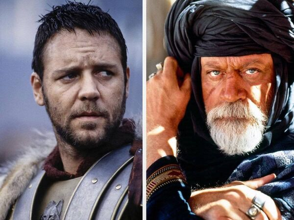 Oliver Reed, who lived in Cork, in his last acting role — opposite Russell Crowe in Gladiator