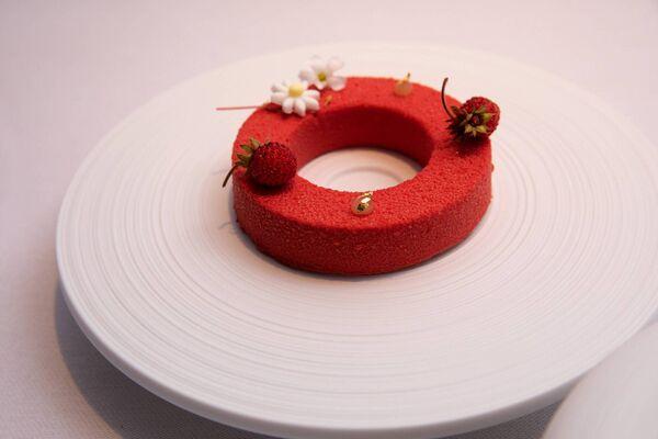 Wild strawberries & ;  Jasmine rice.