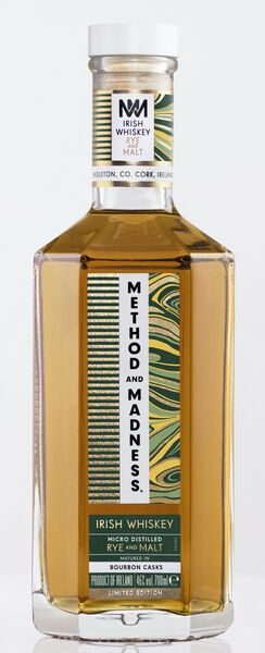 Method and Crazy Rye and Malt Whisky, 46% ABV, 70cl - 95 €