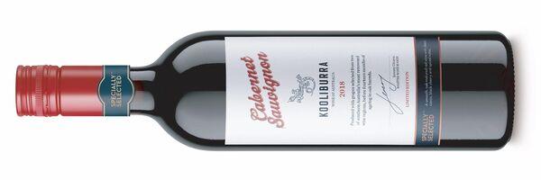 Ειδικά επιλεγμένο Coolipura Cabernet Sauvignon, Αυστραλία 8,99 €