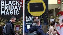 Irish consumers will spend €250m on Black Friday