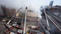 Sixth person dead in New York building collapse; 60 injured