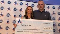 Lovely jubbly! Car mechanic Trotter becomes €129m Euromillions winner