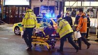 Apollo theatre collapse - at least 81 injured, seven seriously