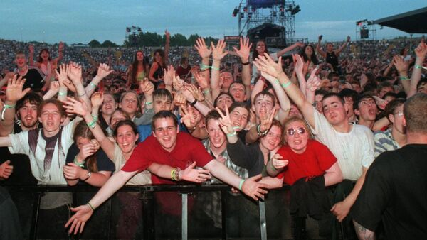 The view from the front of the stage for the Oasis gig at Páirc Ui Chaoimh. Picture: Eddie O'Hare