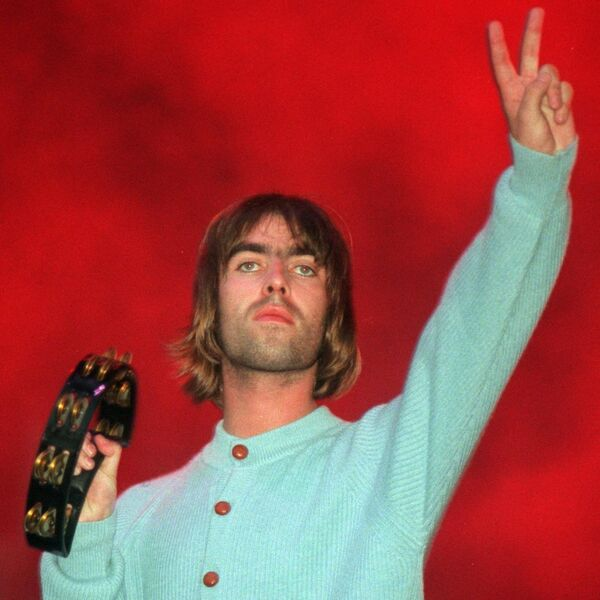 Liam Gallagher salutes the fans in Cork. Picture: Eddie O'Hare