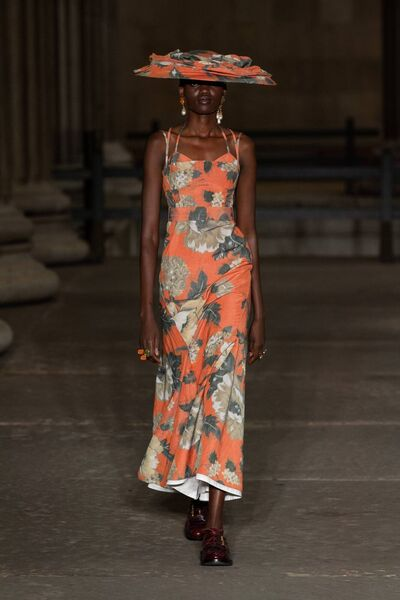 The Erdem collection for London Fashion Week