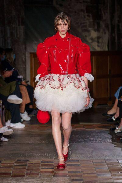 Simone Rocha at London Fashion Week.  Photo: Ben Broomfield