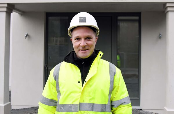 Builder Kieran McCarthy of KMC Homes. 'There is a whole raft of related industries that might be going up for whatever reason.'