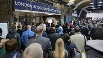 London commuters confronted with 'walls of people' in Tube strike