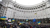 Gunmen seize government building in Ukraine