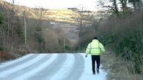 AA warn motorists on icy Christmas morning