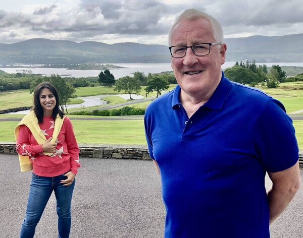Lucy Kennedy discovers a love for Kerry when she visits Pat Spillane and his wife