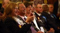Tory MEP calls for pact with Ukip who top Euro polls in UK