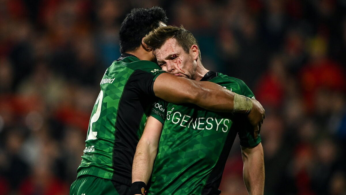 Munster leave it late as they mark Anthony Foley's anniversary with dramatic derby win