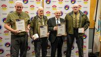 'They heard a splash, turned around and got me': Rescuers honoured at awards ceremony
