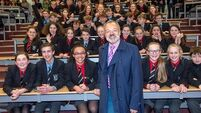 School's in as Norton gets his Ps and Qs right at Bandon Grammar