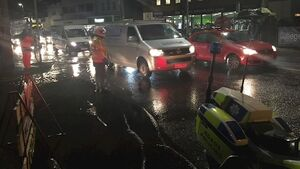 Latest: Cork roads remain closed as high tide passes without major flooding