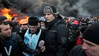 Ukraine protesters storm government offices