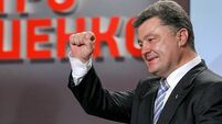 Poroshenko sworn in as Ukraine's president