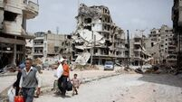 16 killed in strikes on seized Syrian town